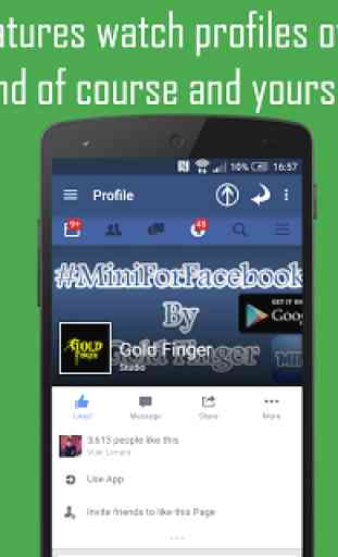 Mini For Facebook - Mini FB 4
