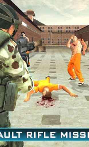 Prison Escape Police Sniper 3D 2