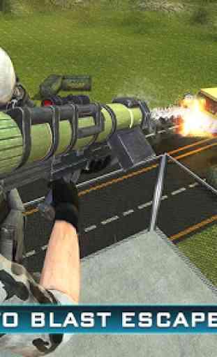 Prison Escape Police Sniper 3D 3