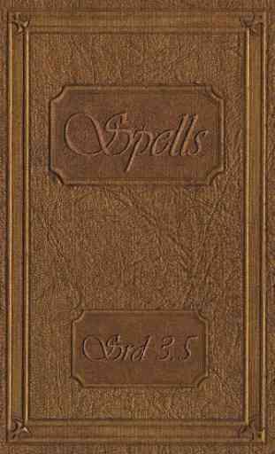 Spellbook - D&D 3.5 1