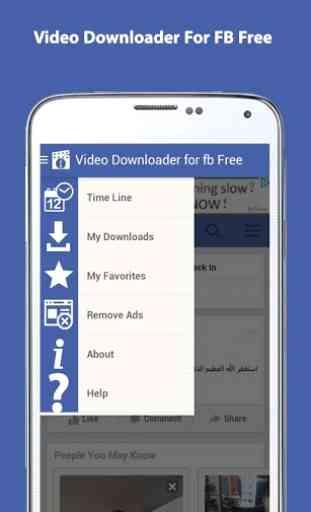 Video Downloader for fb Free 1