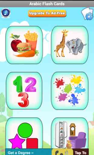 Arabic Flashcards for Kids 2