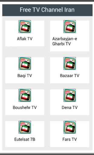Free TV Channel Iran 1