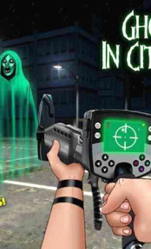 Ghost Hunter In City Simulator 4