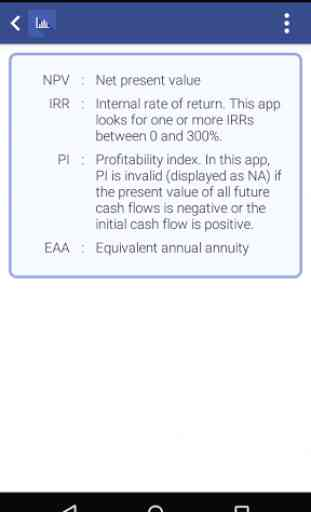 NPV IRR Calculator 4