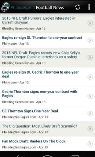 Philadelphia Football News 1