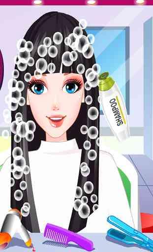 Rainbow Hair Style Hairdresser 2