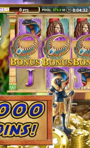 Slot Games: Pharaoh's Plunder! 3