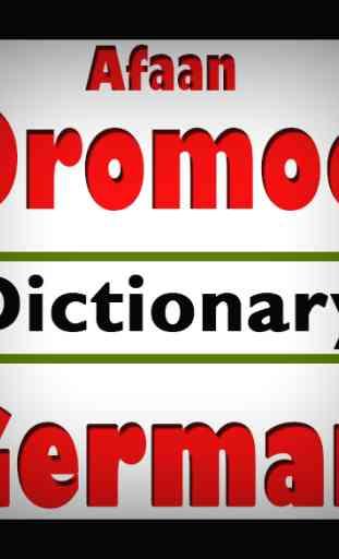 Afaan Oromoo German Dictionary 1