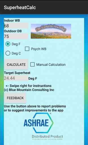 HVAC Superheat Calculator 1