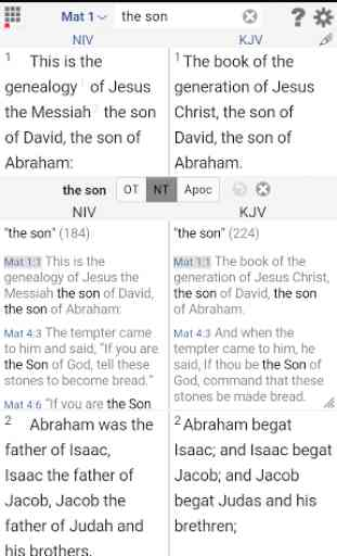 TheBible.org Parallel Bible+ 3