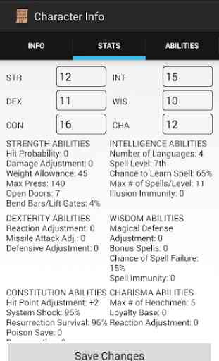 AD&D 2e Character Sheet 4