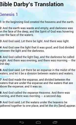 Bible Darby Translation 3
