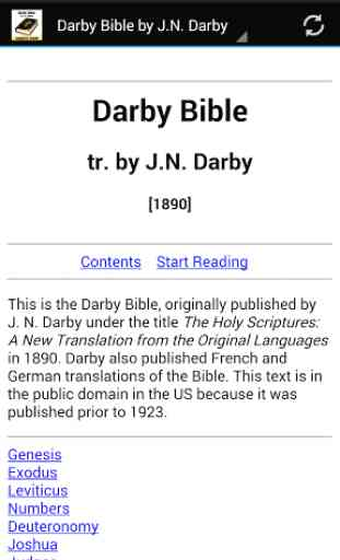 Darby Bible by J.N. Darby 1