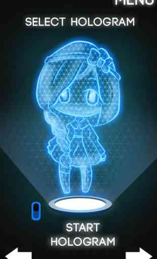 Hologram Anime 3D Simulator 2