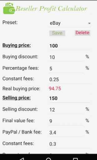 Reseller Profit Calculator 1