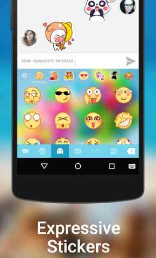 Kika Keyboard - Emoji, GIFs 4