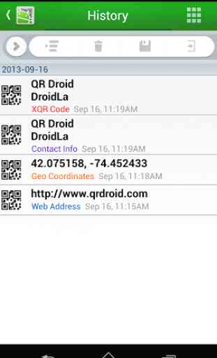 QR Droid Code Scanner 4