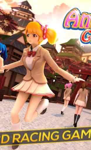 Anime Girl Run - My Manga Game 1