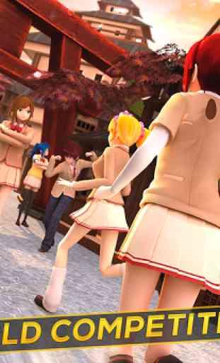 Anime Girl Run - My Manga Game 2