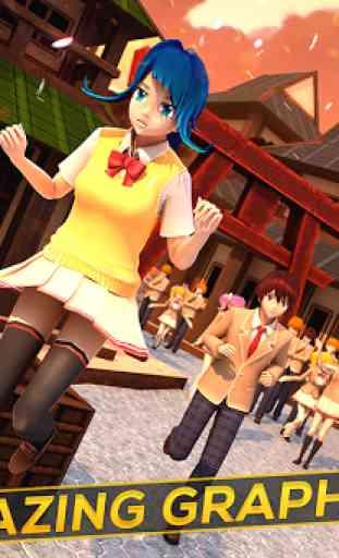 Anime Girl Run - My Manga Game 3