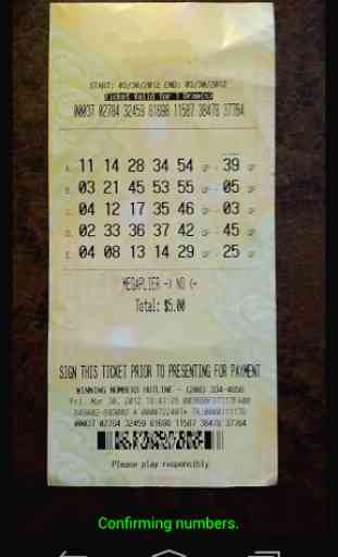 Lotto Scanner (Powerball / MM) 2