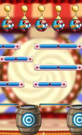 Puzzle Game - Cut the clowns 2 4
