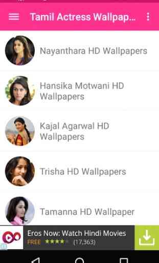 Tamil Actress Wallpapers 2