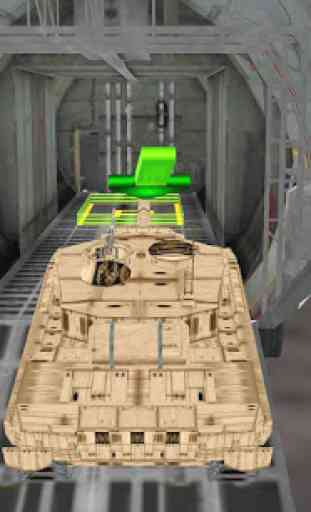 Cargo Jet Army Tank Transport 4