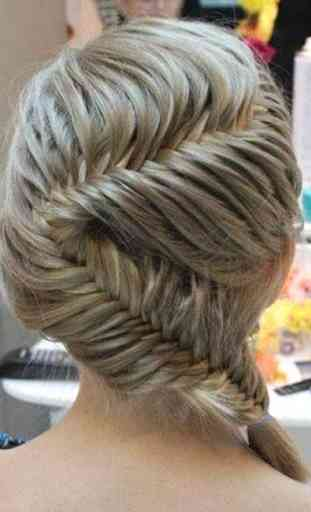 French braids: Women hairstyle 3