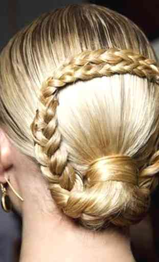 French braids: Women hairstyle 4