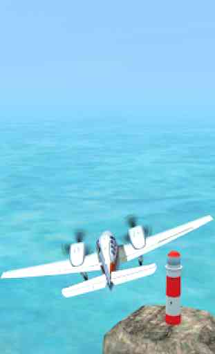 Airplane 3D Flight Simulator 2