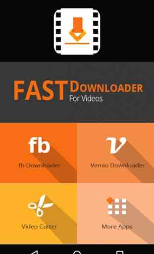 Fast Downloader For Videos 1