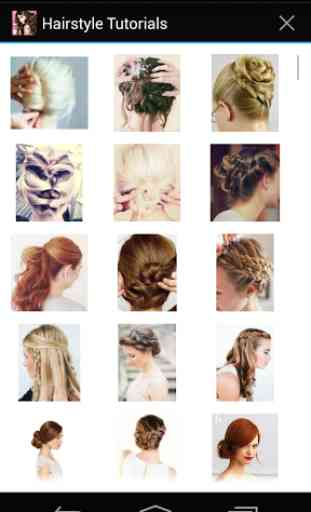 Hairstyles step by step 1