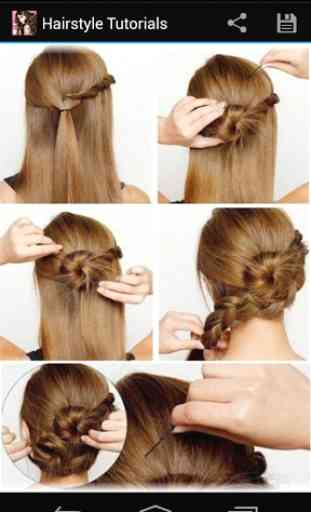 Hairstyles step by step 2