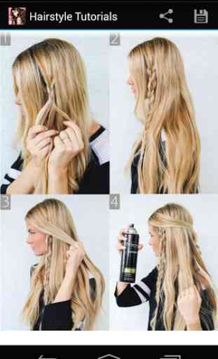 Hairstyles step by step 3