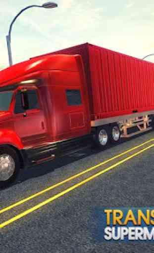 Supermarket Transporter Truck 3