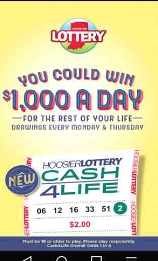Hoosier Lottery 1