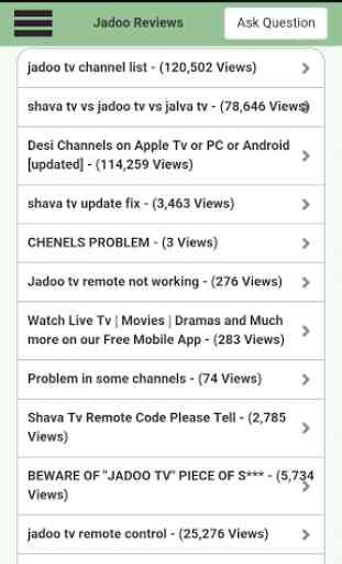 KnowledgeZone. Jadoo Tv Review 3