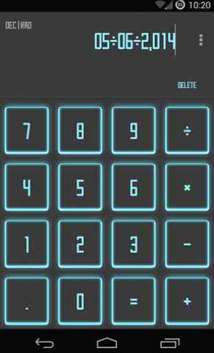 Calculator SAO Theme 1