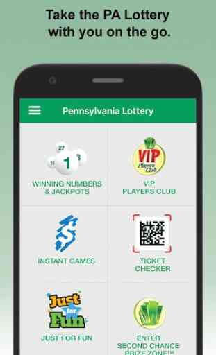 PA Lottery Official App 1