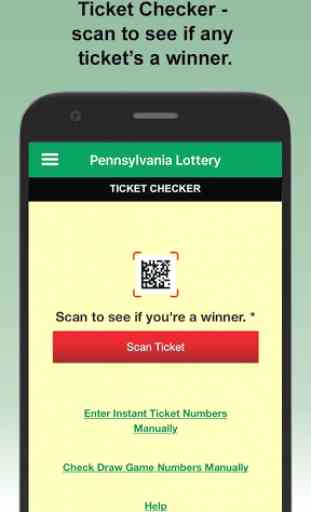PA Lottery Official App 2