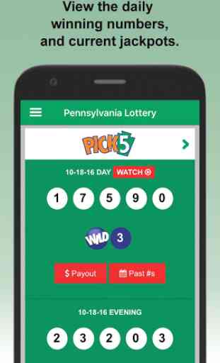 PA Lottery Official App 4