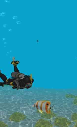 Sea Diver Simulator 3D 4