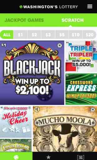 Washington's Lottery 4