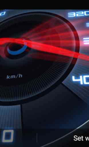Speedometer Live Wallpaper 3D 4