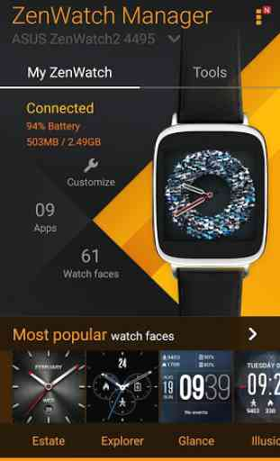 ZenWatch Manager 2
