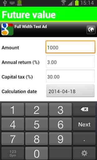 Finance Calculator Free 2
