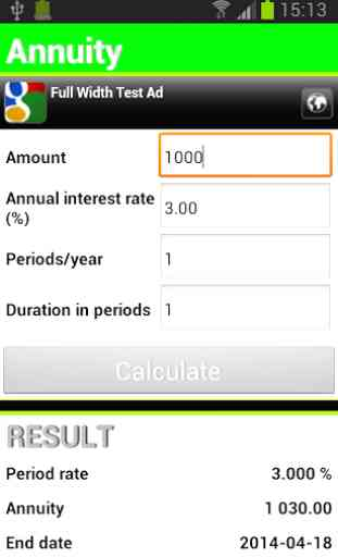 Finance Calculator Free 3