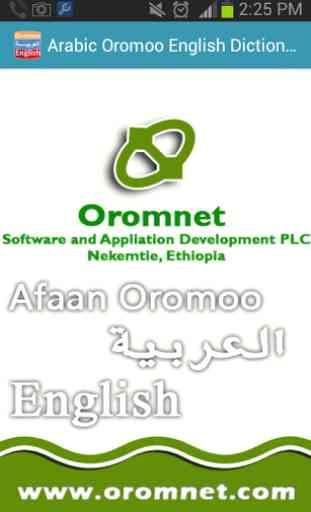Afaan Oromoo Arabic Dictionary 2